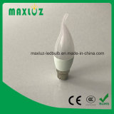 Dimmable SMD LED Candle Light Bulbs 3W with IC Driver