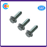 Carbon Steel Fastener Hexagon Head Flange Bolt Thread Bolt