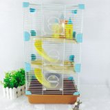 Colorful Ancient Castle Luxury Hamster Cage Medium Hamster Cage Castle Hamster Cage Wire Cover Hamster Cage