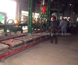 Horizontal Parting Iron Mold Coated Sand Casting Production Line