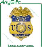 Metal Pin Badge with Customized Logo
