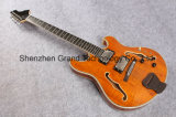 Golden Hardware Hollow Body Lp Style Electric Guitar (GLP-147)
