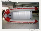 2015 New Design 3.8m SA380 Inflatable Boat Aluminum Floor Boat Working for Rescue with CE China