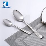 18/10 Cathylin Flatware Solid Stainless Steel Silverware Set Deco Handle