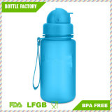 Plastic Tumbler Water Bottle with Straw for Kids
