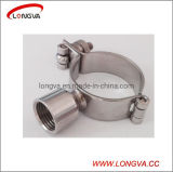 Ss Sanitary Female Pipe Clamp Support