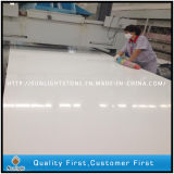 Polished White Quartz Engineered Artificial Quartz Stone for Countertop