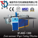 Dfj Simple Type Paper Roll Sheeting Machine with Step Motor