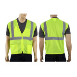 Wholesale Yellow High Visibility Reflective Safety Vest