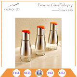 320ml Glass Vinegar Bottle with Stainless Steel Cover