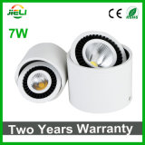 360 Degree Rotable 7W Surface Mounted LED Down Light