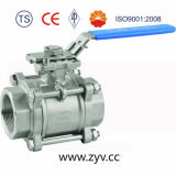 "2"" Three Pieces Threaded End Ball Valve"