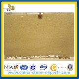 Polished Rusty Yellow Granite Slab for Kitchen Countertop and Vanity Top