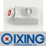 Cee 32A 4p Interlock/ Socket with Switch (QX5793)