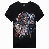 Low Price 3D Print Fashion Personalized Men Short Sleeve T-Shirt