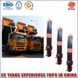Single Acting Chromed Hydraulic Cylinder for Tipper Truck