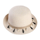 Wholesale Competitive Price Paper Women/Ladies Paper Straw Hat