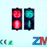 LED Pedestrian Traffic Light with Countdown Meter / Countdown Timer