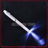 Promotion Custom Printed Outdoor Metal LED Torch Flashlight