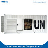 1000kVA Super Silent Diesel Power Genset Powered Engine Kta38-G2a Ce ISO Approval Kta38-G2a