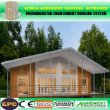 EPC Prefab Container House with Glass Wall Glass Big Windows