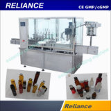 Glass Syrup Ampoule Forming Filling, Stoppering and Capping Machine