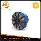 Segment Plug System Concrete Metal Diamond Grinding Plug
