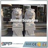Natural Granite Stone Animal Sculpture/Statue for Garden Ornament