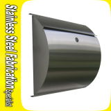 Residential Wall-Mounted Single Stainless Steel Commercial Mailboxes