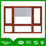 Double Swing Pane White UPVC Casement Window