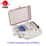 4 ~ 8 Cores 4 Ports Fiber Optic Cable Termination Box (PTB014)