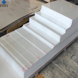 3003 PVDF Pre Painted Aluminum Al, Mg Mn Corrugated Roofing Sheet