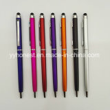 Cheap Slim Light Touch Stylus Twist Metal Pen for iPad
