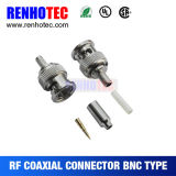 Crimp Male BNC Connector for Cable Rg174/179