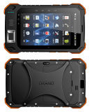"7"" Rugged Tablet PC with RFID Barcode Scanner, Fingerprint"
