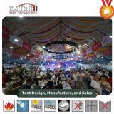 Large Aluminum PVC Structure Marquee Tent Hall for 2500 Seat Outdoor Event