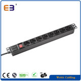 "19"" Rack Mountable 6-Way Italy Series PDU with Switch"