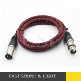 Audio Signal DMX Cable with 3pin XLR Connector for Microphone