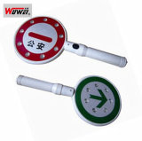 High Quality LED Hand Held Stop Traffic Sign Wt-5