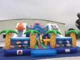 Cheap Inflatable Undersea Theme Bouncer Jumping Castle for Sale