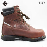 Army safety Outdoor Shoes with Rubber Outsole and Iron Toe