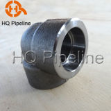 2000#/3000#/6000# Carbon Steel Forged Socket Weld 90 Elbow Pipe Fittintgs
