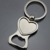Wedding Gift Heart Shape Keychain Bottle Opener