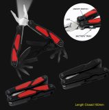 Highest Top Quality Multi-Tools Pliers with on/off Switch LED (#8129BLK)