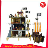 Children Like Pirates Series Wooden Doll House Toy