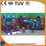 Customized Plastic Kids Indoor Playground House (WK-F180314)