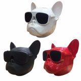 Super Bass French Bulldog Music MP3 Player Mini Bluetooth Wireless Dog Speaker