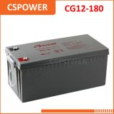12V180ah Solar Gel Battery with 15years Life 12V 180ah Cg12-180