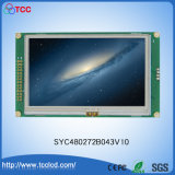 Color TFT LCD Display Touch Screen 480X272 Dots Syc480272b043V10 with IC Tc76687