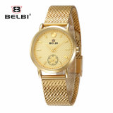 Belbi Women Fashion Models of Business Watches Waterproof Alloy Watch